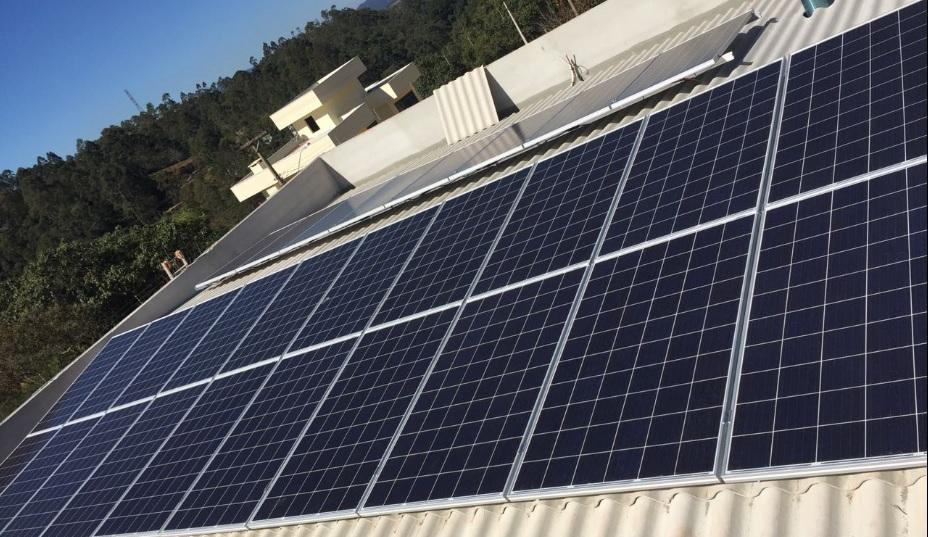 Geração de energia solar fotovoltaica em Mairiporã feito pela Ensolar!