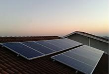 Projeto da Ensolar, gerando energia solar fotovoltaica em telhado residencial